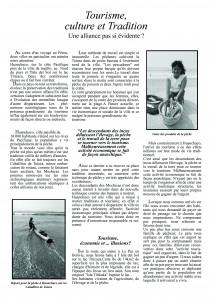 article perou final 1 décembre 2008